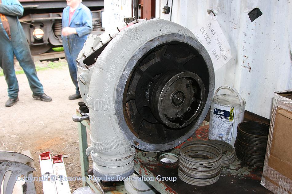 Second turbo overhaul