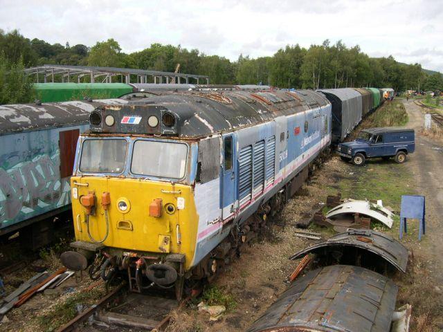 50029 at Rowsley 19th September 2004