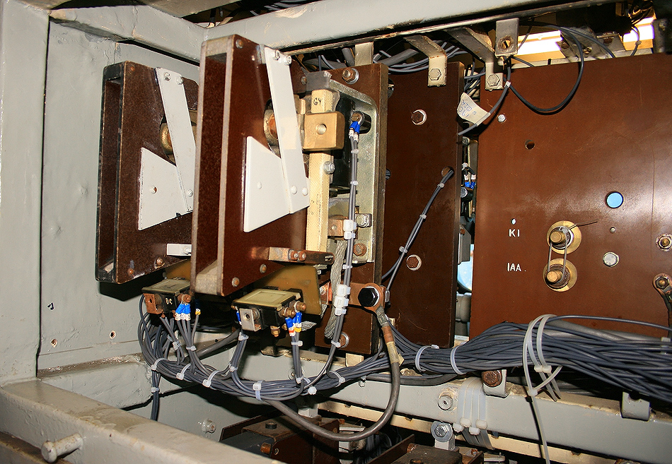 50030 main start contactors overhauled