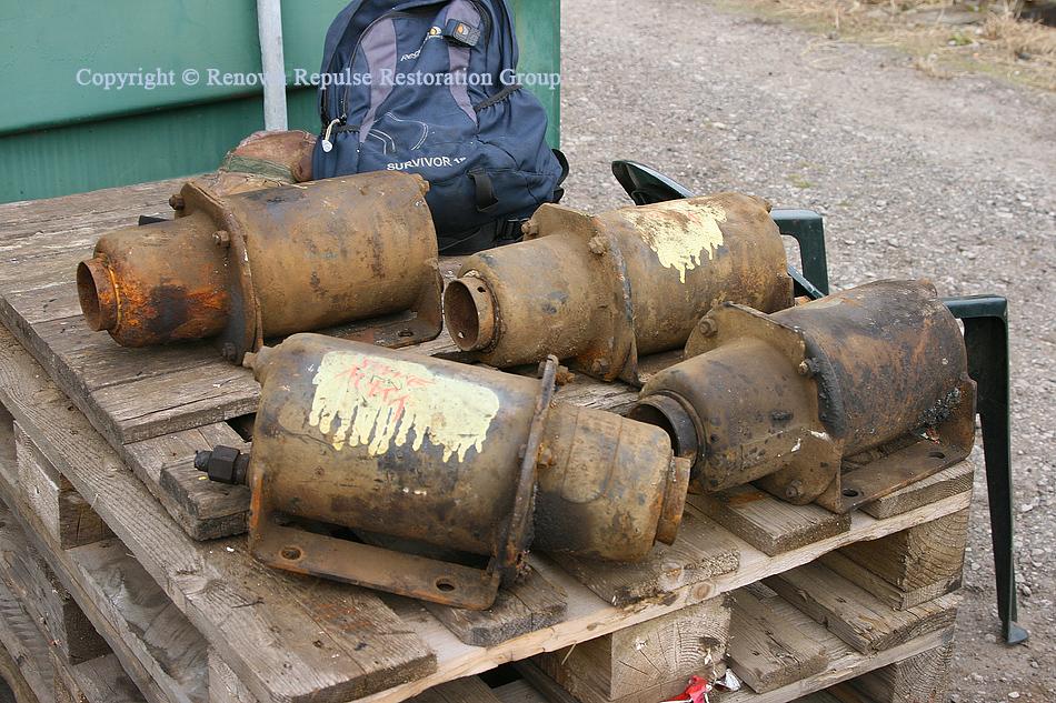 Brake cylinders ex-Booths