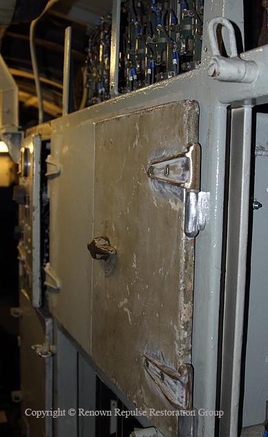 50030 Repaired Fuse cupboard cubicle doors April 2011