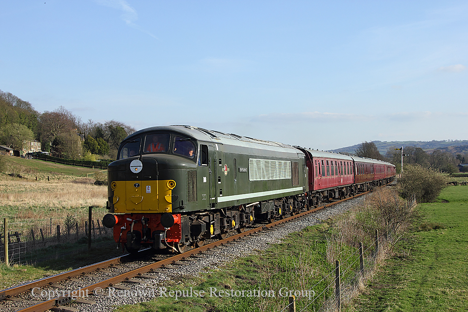 D8 Penyghent near Rowsley 1st April 2012