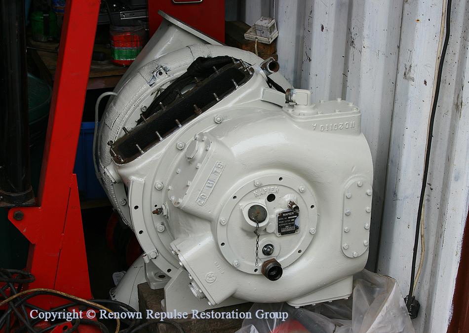 Overhauled turbo