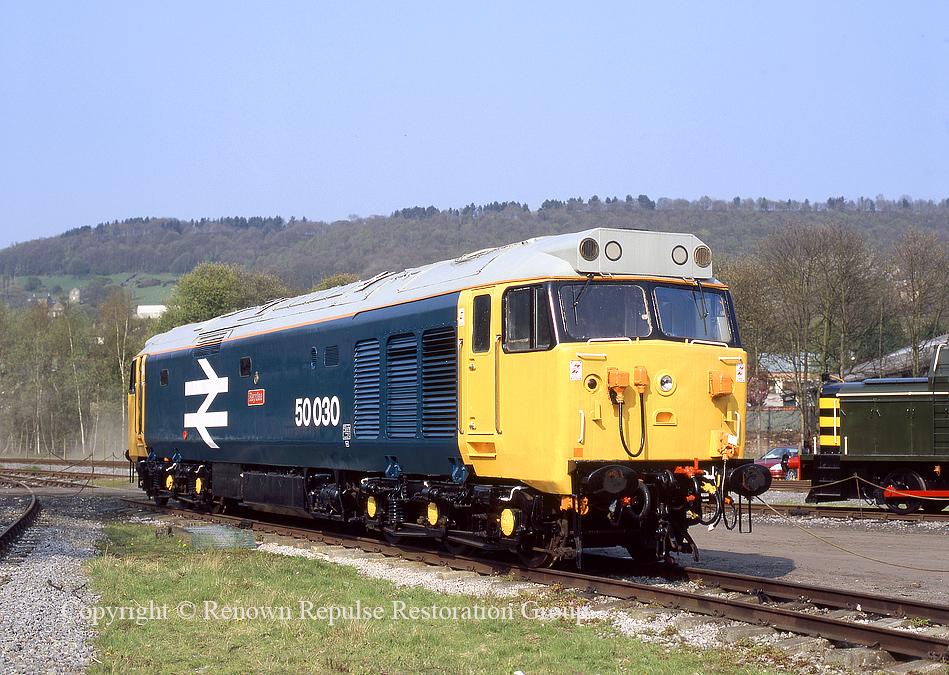 50030 at Rowsley 24 April 2005