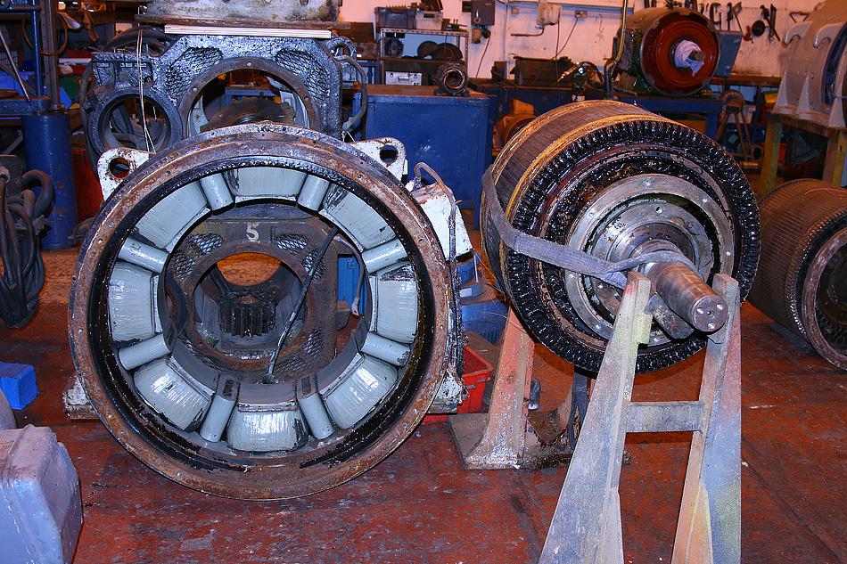 ETH generator overhaul at Bowers