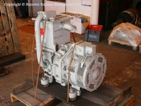 Ex-Unipart overhauled Class 50 exhauster at Bowers