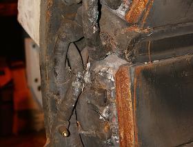 Spare ETH field winding case damage