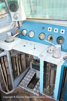 50030 driver's desk