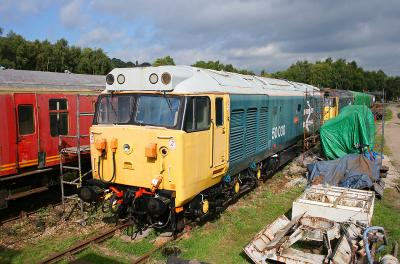 50030 at Rowsley 16th September 2007