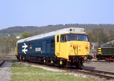50030 at Rowsley 24 April 2005