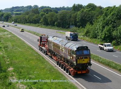 50017 on the A38 near Ivybridge