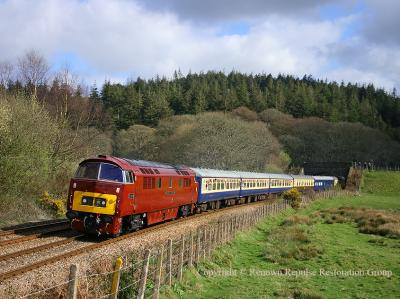 D1015 passing Restormel 5th April 2008