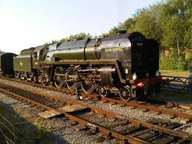 70013 Oliver Cromwell visits Peak Rail May 2012