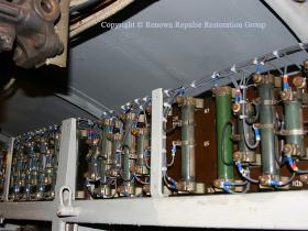 Resistors on top of 50030 electrical cubicle reinstated.