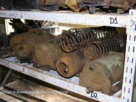 Brake cylinders recovered from Booths