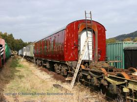 Mark 1 BG 80777 under restoration for Peak Rail use