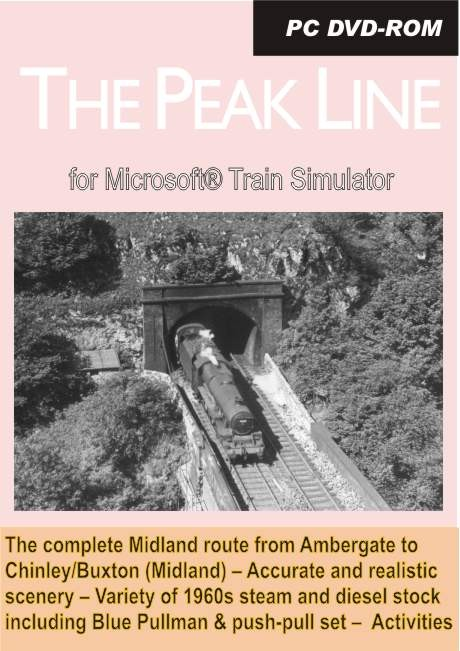 The Peak Line for Microsoft Train Simulator price reduction!