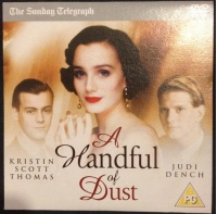 A Handful of Dust DVD front