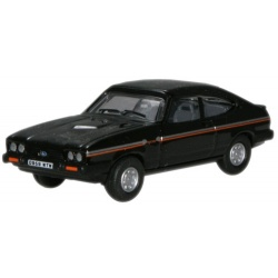 Oxford Diecast Ford Capri mk3 black 76CAP005