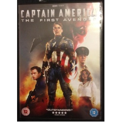 Captain America DVD front