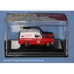 R7058 Ford Thames Sheef Materials red/white van