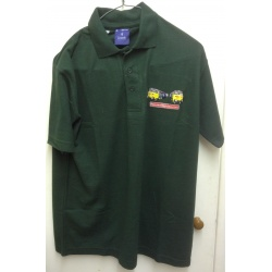 Polo shirt bottle green