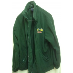 RRRG fleece bottle green