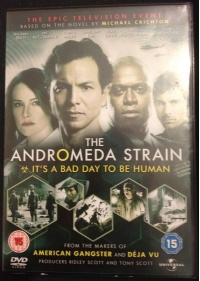 The Andromeda Strain DVD front