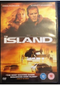 The Island DVD front