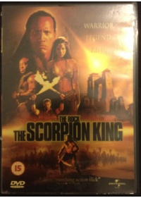 The Scorpion King DVD front