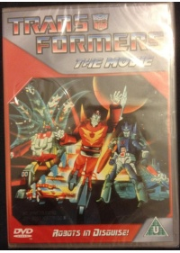 Transformers DVD front