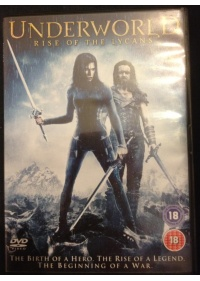 Underworld Rise of the Lycans DVD front